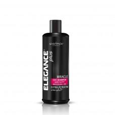 Elegance шампунь Extra Keratin Miracle (для всех типов волос) розовый (Hair Shampoo) 500 мл